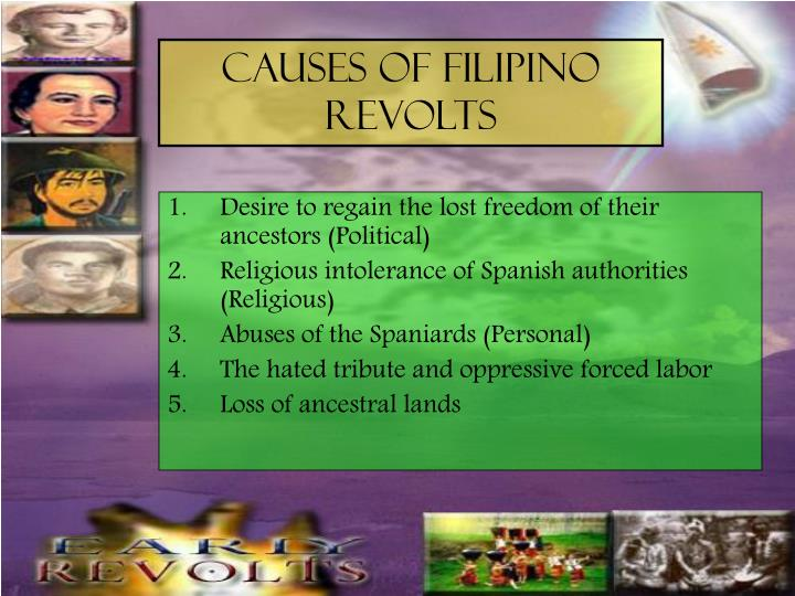 revolts in the philippines During the philippine revolution, various flags were used by the katipunan secret society and its various factions, and later, after the katipunan had been dissolved, the philippine army and its civil government other flags were the personal battle standards of different military zone commanders operating around manila.