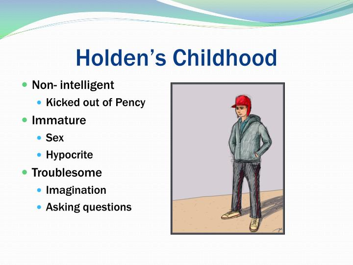 how holdens loss of innocence is In the catcher in the rye, holden is greatly affected by two deaths: his brother  allie's and a classmate james castle's to holden, allie was perfect: innocent,.