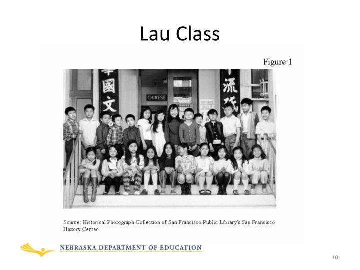 Lau Class