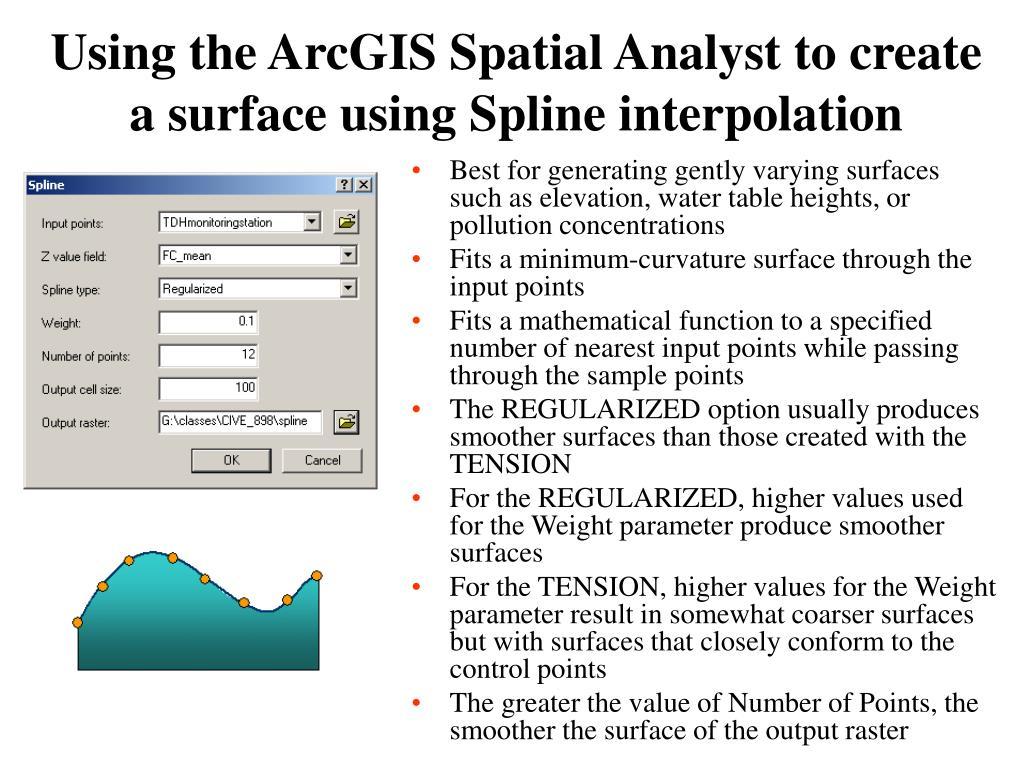 PPT - Surface terrain model for city of Austin, TX ArcGIS 3