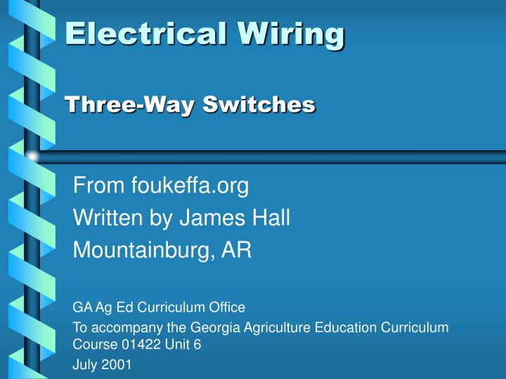 Incredible Ppt Electrical Wiring Powerpoint Presentation Id 2939987 Wiring Cloud Hisonuggs Outletorg