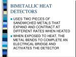 bimetallic heat detectors1