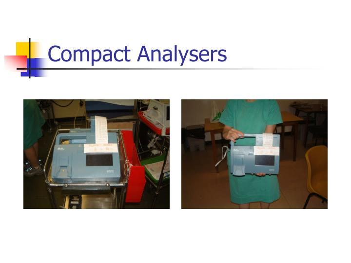 Compact Analysers