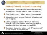 property casualty insurance accounting