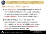 references to credit ias 39