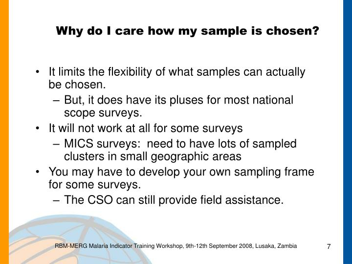 Why do I care how my sample is chosen?