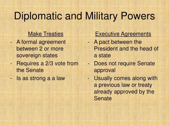 Make Treaties
