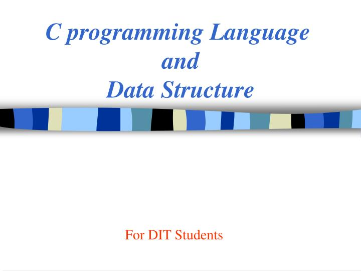 c programming language and data structure n.