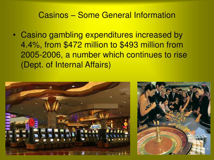 the rise of casino gambling as a negative effect on the community The community leaders suggest that although casino gaming does make positive social, economic and environment contributions to the community, greater effort is needed to minimize its negative.