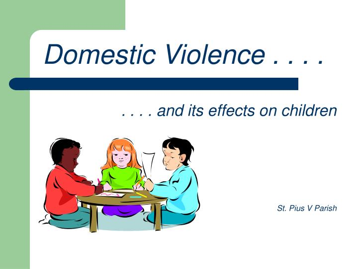 a study on the on screen violence and its effects on children Research on media violence and its effects national television violence study evaluated almost experiencing media violence, children and.