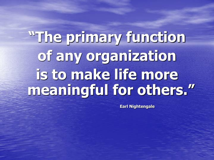 """The primary function"