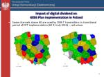 impact of digital dividend on g e 06 plan implementation in poland2