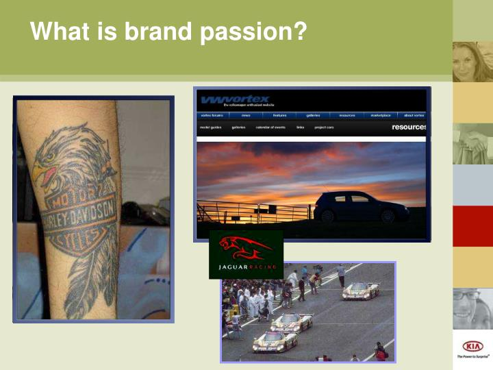 What is brand passion?