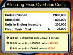 allocating fixed overhead costs2