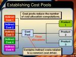establishing cost pools1