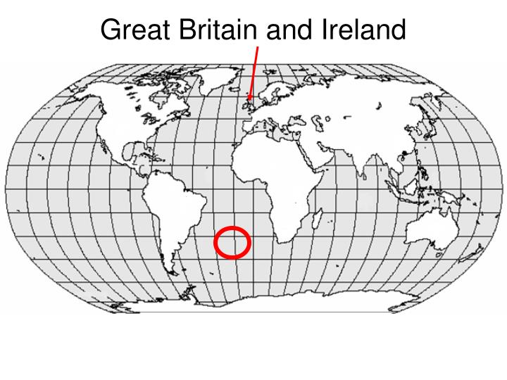 great britain and ireland n.