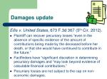 damages update