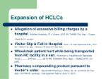 expansion of hclcs2