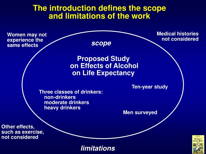 scope and limitations of aids