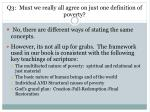 q3 must we really all agree on just one definition of poverty