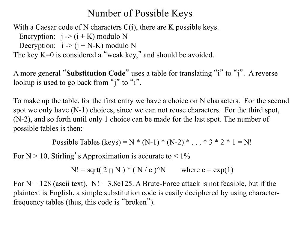 PPT - Chapter 2 - Conventional (Single-Key) Cryptography ECE