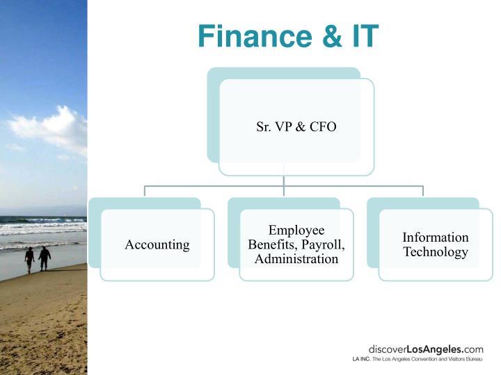 Finance & IT