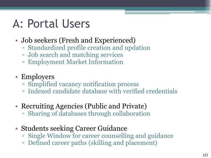 A: Portal Users