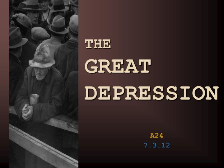 how the great depression changed the federal The great depression was a worldwide catastrophe whose causes and consequences alike were global in character the primary cause of the great depression, reads the first sentence of president herbert hoover's memoirs , was the war of 1914-1918.