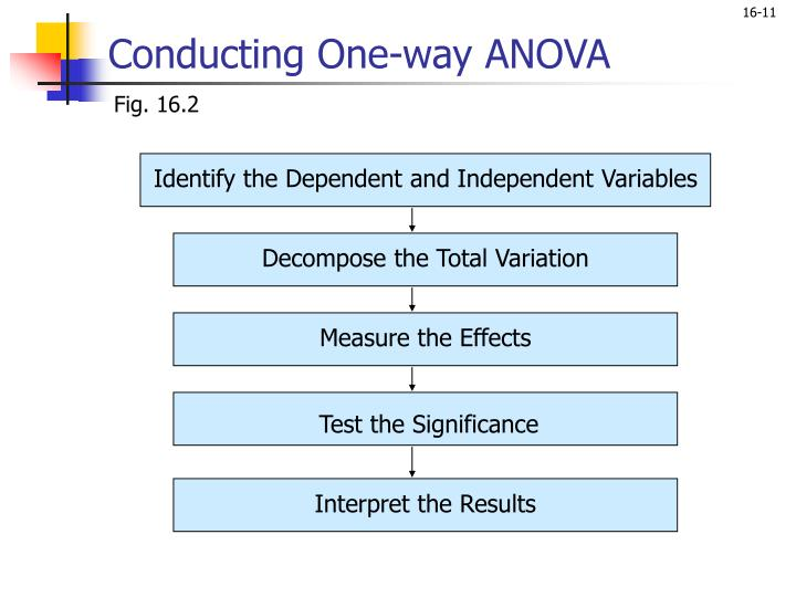 Identify the Dependent and Independent Variables