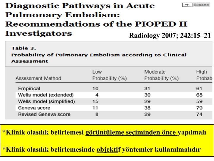 Radiology 2007; 242:15–21