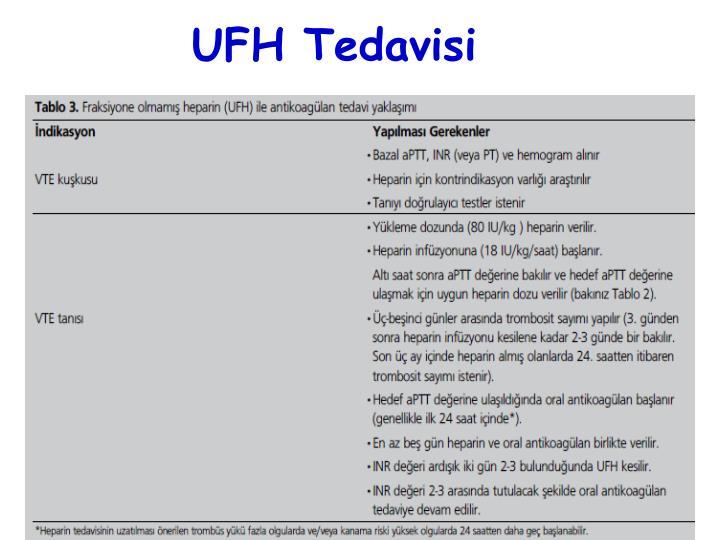 UFH Tedavisi