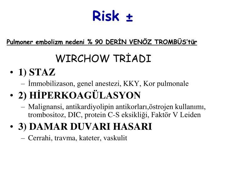 Risk ±