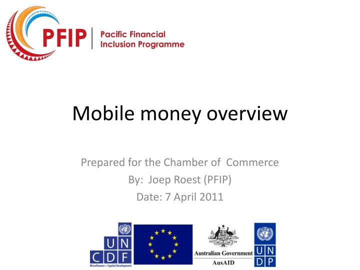 mobile money overview n.