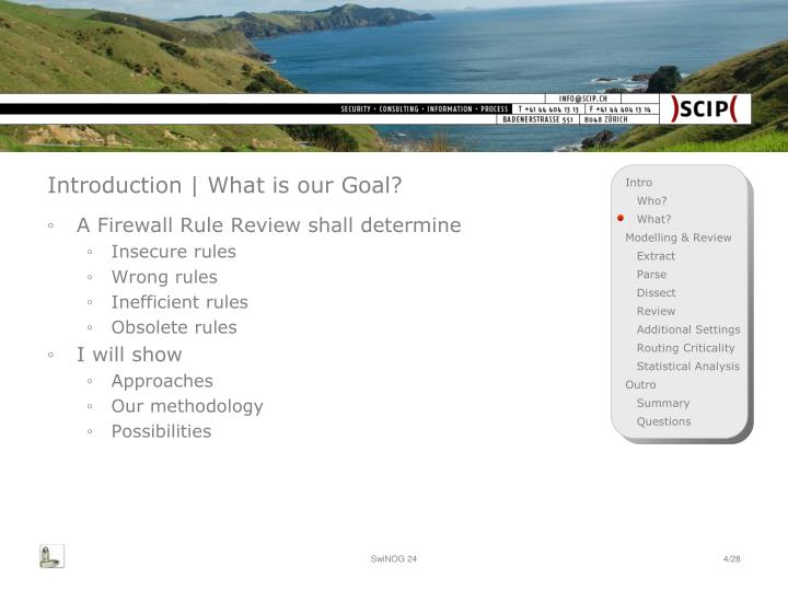 Introduction | What is our Goal?