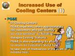increased use of cooling centers 1