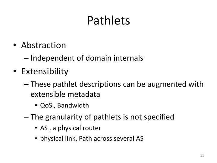 Pathlets