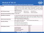 module n b0 10 improved operations through enhanced en route trajectories