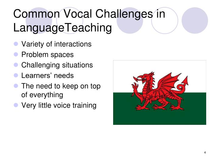Common Vocal Challenges in LanguageTeaching