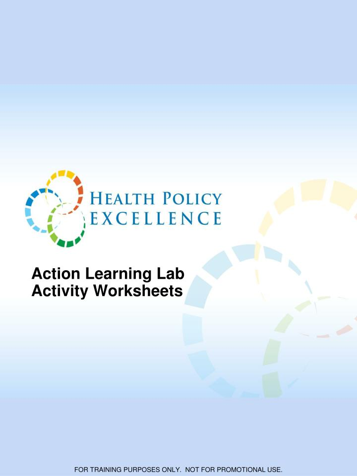 action learning lab activity worksheets n.