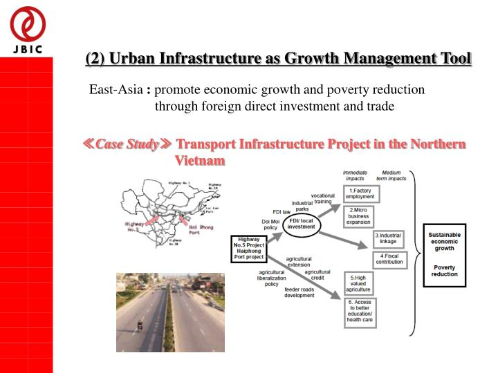 (2) Urban Infrastructure as Growth Management Tool