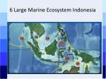 6 large marine ecosystem indonesia