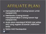 affiliate plan