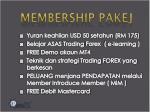 membership pakej