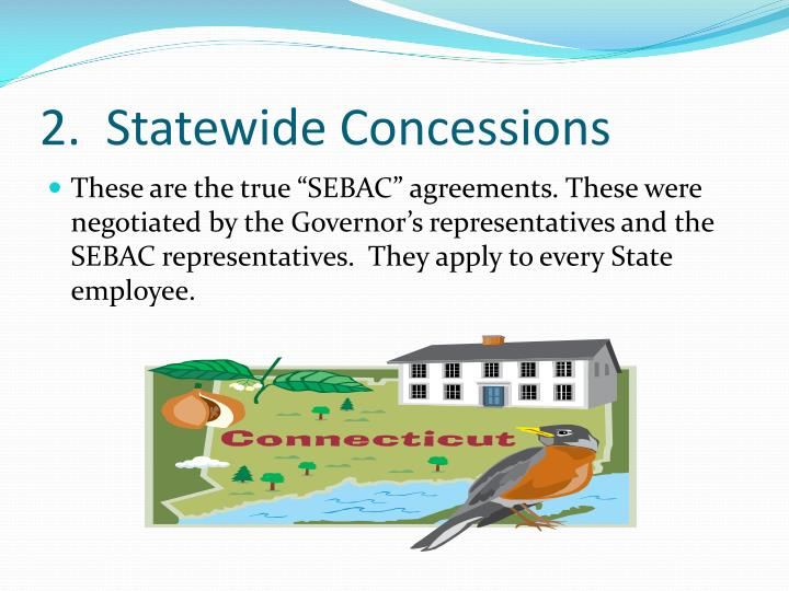 2.  Statewide Concessions