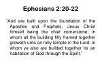 ephesians 2 20 22