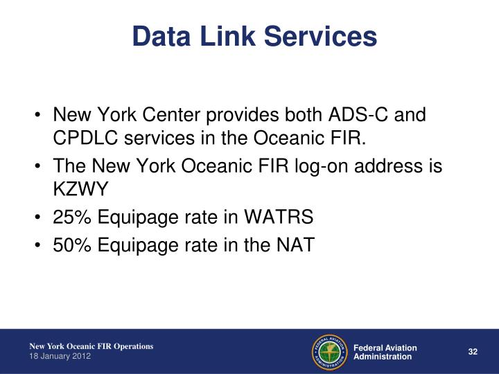 Data Link Services
