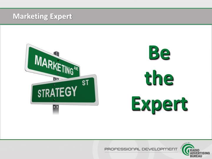 Marketing Expert