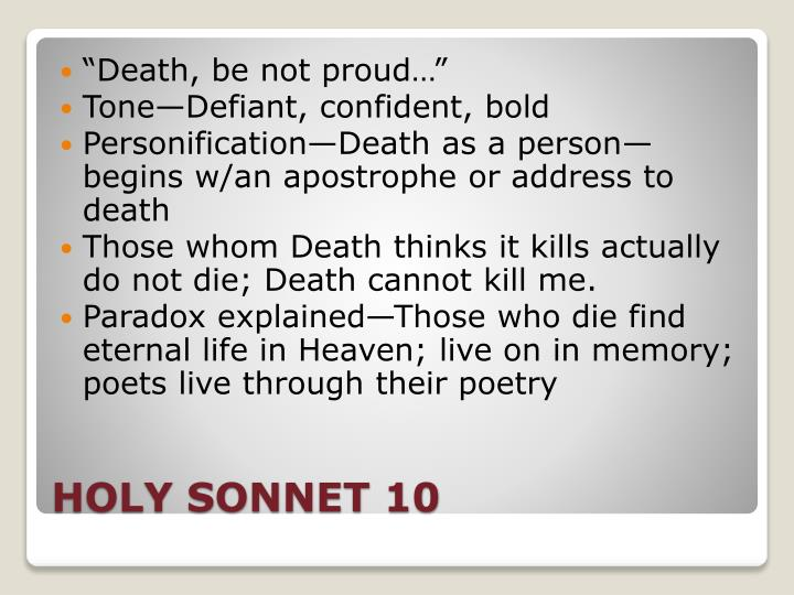 the life lessons in the book death be not proud by john donne English poems : english poems for  a psalm of life - 1( henry wadsworth longfellow ) a psalm of life - 2  ( john donne ) death be not proud - 2 ( john donne .