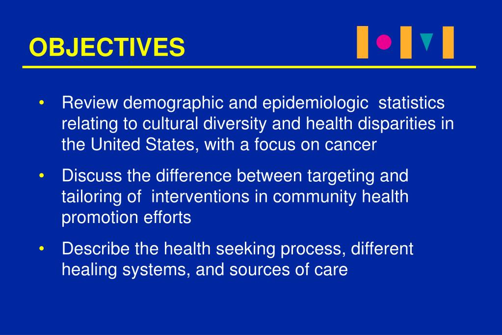 PPT - CULTURALLY COMPETENT HEALTH PROMOTION AND DISEASE