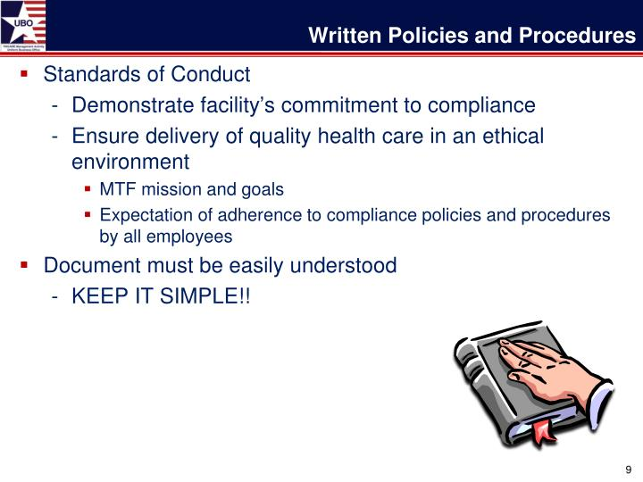 writing policy and procedures Dos and don'ts of policy writing there are experts in this field like stephen page, who have excellent resources for writing policies and procedures.